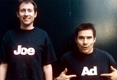Adam and Joe, c. 1997